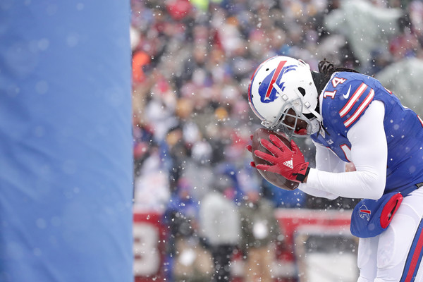 Sammy Watkins is thankful to be healthy and back in the lineup for Buffalo (Photo: Brett Carlsen/Getty Images North America).