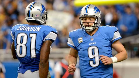 To be sure, the Detroit Lions offense will look different this year... but that's not all bad news for Matthew Stafford (Photo: Mark Cunningham / Getty Images).