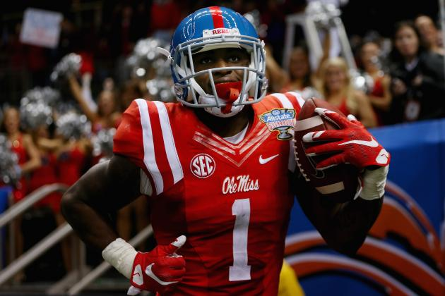 Laquon Treadwell was among the best receivers in this year's draft and profiles as teh best dynasty option at the position (Photo: Chris Graythen/Getty Images).